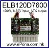 6-30V wide input range 120W Mini Car Power Supply