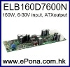 6-30V wide input range 160W ATX Power Supply