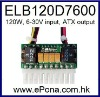 6-30VDC input 120W Mini Power Converter