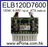 6-30VDC wide input 120W Mini ITX Power Supply