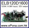 6-36VDC wide input 120W DC DC Power Supply