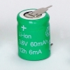 60mah Lithium-ion Battery with 3.6v voltage
