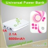 6600mAh Universal battery pack for iPhone and iPad