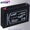 6v SLA battery 7ah battery  ups battery (3-FM-7)