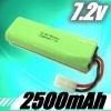 7.2V Rechargeable ni-mh battery for cordless phone, toys, tools