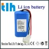 7.4V 2200mAh rechargeable battery for flashlight