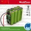 7.4V 8Ah battery for led flashlight