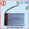 703048 3.7V rechargeable lithium polymer battery