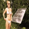 75W-90W mono solar module for GARDEN LIGHT