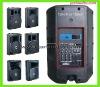 8/10/12/15 inchPlastic Speaker Cabinet, Stage Loudspeaker,Pa Speaker,YQ Series