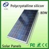 80 watt polycrystalline Solar panels for home use