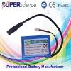 800mAh City lights li ion battery pack