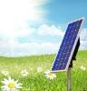80W mono solar panel module for GARDEN LIGHT