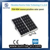 90W mono solar panel for small solar system