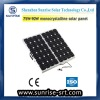 90W monocrystalline silcon solar module