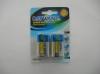 9V/6F22 Aliminum Foil Jacket  Blister card 2B Dry battery