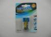 9V/6F22 Aluminum Foil Carbon battery Blister card pack