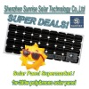 A-S Hot sell 190W mono solar panel with low price