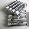 AAA lithium battery,1.5v AAA lithium Fe battery with 1100mAh(Eunicell brand)