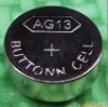 AG13 alkaline one-off button cells used for watch