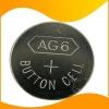 AG6 coin cell  battery, AG6 LR920 1.5v alkaline button cell battery