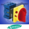 Air conditioner rotary switch