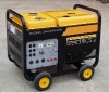 Air cooled mobile diesel generator set