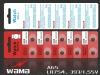 Alkaline button cells AG5 L754 1.5V