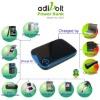 Anecoo portable power external digital battery charger
