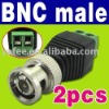 BNC M Balun Audio Video Connectors O-421