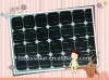 Bankable 40w mono-crystalline solar panel with TUV UL CEC