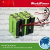 Big Power LED flashlight lithium ion battery 14.8V 7200mah