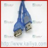 Blue Fasionable  5Pin  USB 2.0 Data Cables