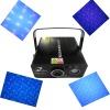 Blue laser light with LED