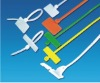 Brand plate type cable ties