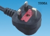 British BSI  non-removable power cord