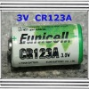 CR123A 3V lithium battery, flashlight used, CR123A digital camera