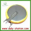 CR2032 battery with solder pins(Customered Pins)