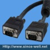 Coaxial VGA Monitor Cable Male to Male 6ft
