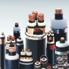 Cooper or aluminum core  PVC insulated steel-stape armoured PVC sheathed  power cable with concentric conductor
