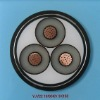 Copper conductor, XLPE insulated, PVC sheathed steel tape armoured electrical cable