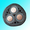 Copper conductor, XLPE insulated, steel tape armoured, PVC sheathed electrical cable