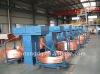 Copper upward continuous casting line