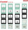 Crystal Series----wall switches & sockets