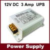 DC 12V 3A backup uninterruptible dc power supply,3A