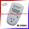 DL-TS001 LCD weekly digital timer switch