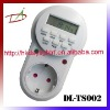 DL-TS002 230V AC European timer socket
