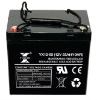 Deep-cycle Lead Acid Battery 12V 55AH