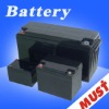 Deep cycle battery for attendance machine