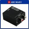 Digital Optical Coax to Analog RCA Audio Converter #WB093